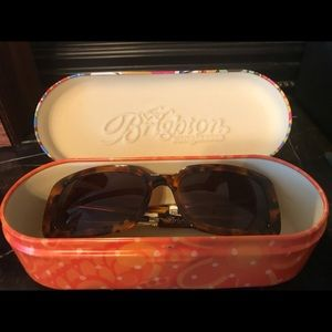 Brighton Tortoise Sunday Morning Sunglasses